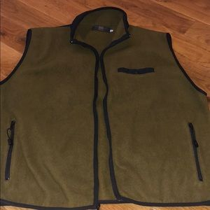 ORVIS Full Zip Fleece Vest Like Patagonia